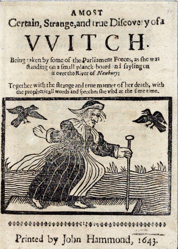 A most certain, strange and true discovery of a witch